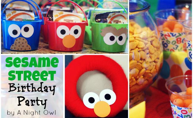 A Sesame Street Birthday Party