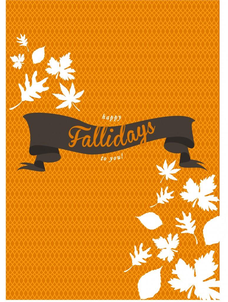 Happy Fallidays - Fall Printables | #free #fall #thanksgiving #printables