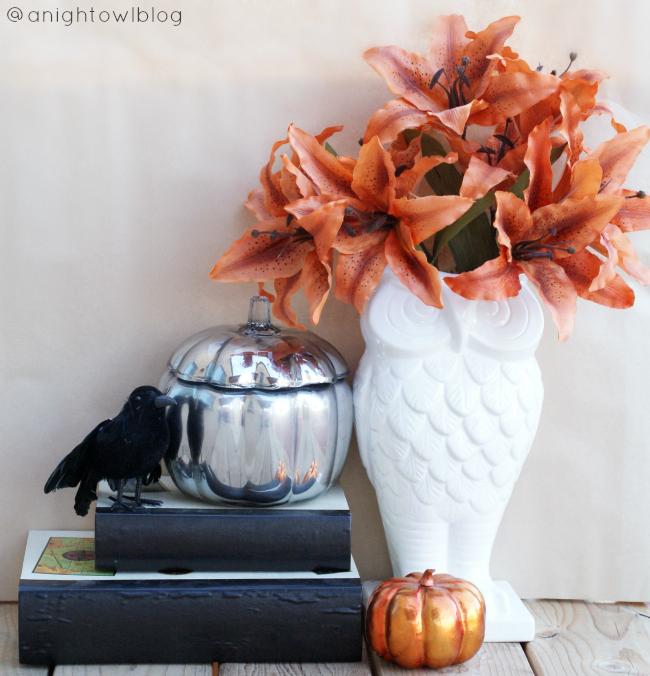 Knock-Off Pottery Barn Mercury Glass Pumpkins | #knockoff #potterybarn #mercuryglass #pumpkins #fall #thanksgiving #decor