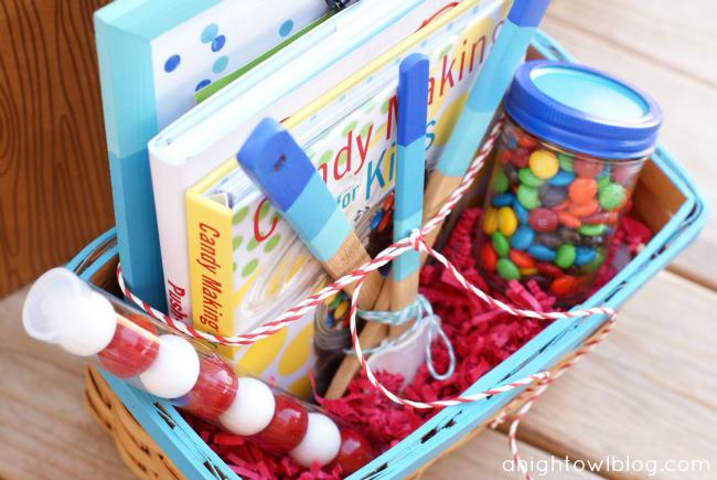 Bakeru0027s Delight Gift Basket by @anightowlblog & Thrifty Thursday Bakeru0027s Delight Gift Basket | A Night Owl Blog