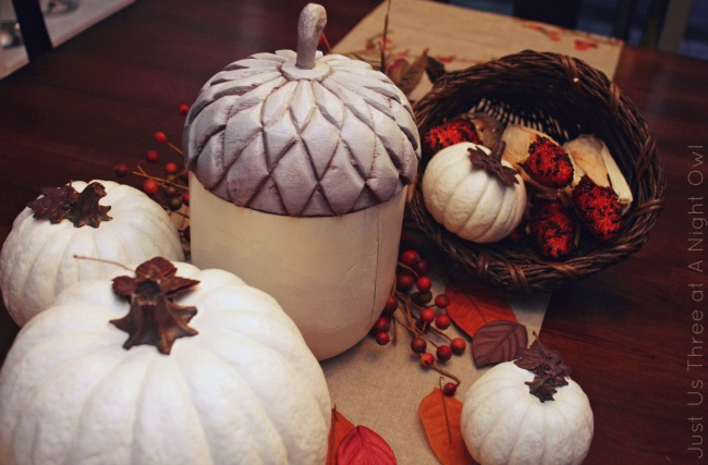 Festive Fall Decor - add style to your Fall decor this year with these easy projects! | #diy #fall #thanksgiving #decor