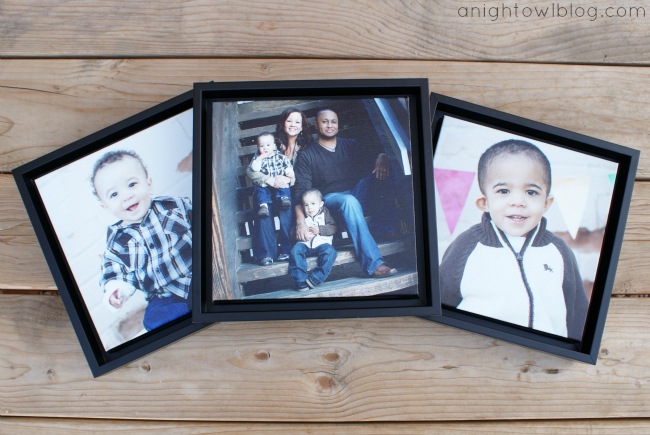 Turn your photos into stunning framed canvas prints with #SnapBoxPrints