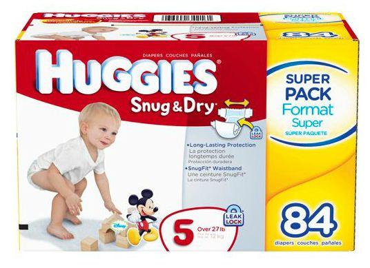 Huggies Snug & Dry Diapers #HuggiesWalmart