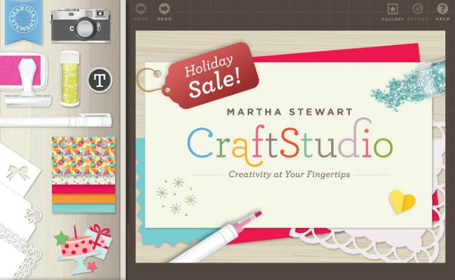 Martha Stewart CraftStudio for the iPad