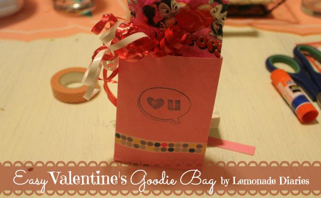 Valentine's Day Goodie Bag by Lemonade Diaries