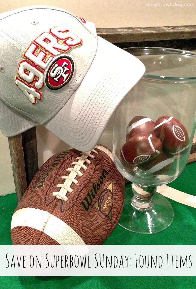 Shop your home for Superbowl Sunday! { anightowlblog.com } #ThriftyThursday #Superbowl #Party