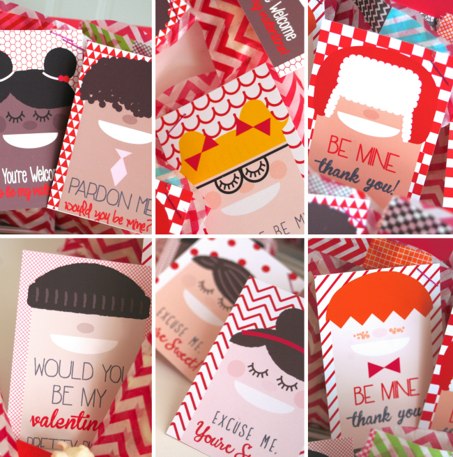 Cool Kids Valentine S Day Printables A Night Owl Blog