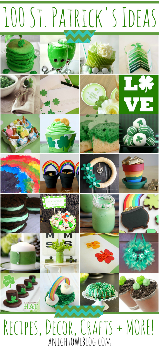100 St Patricks Day Ideas A Night Owl