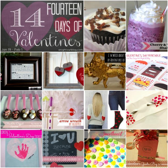 14 Days of Valentines - 14 Days of Valentine's fun! #valentines