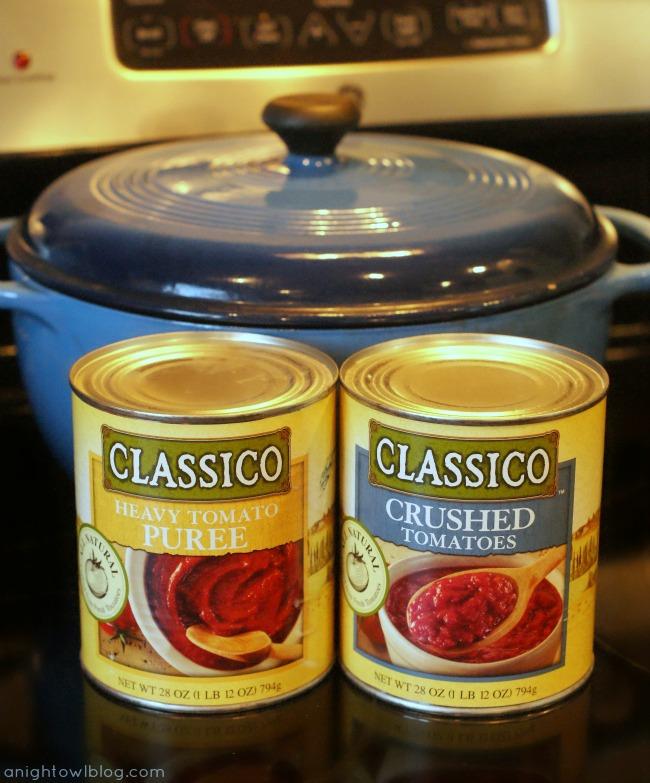 Classico Tomato Products #CookClassico