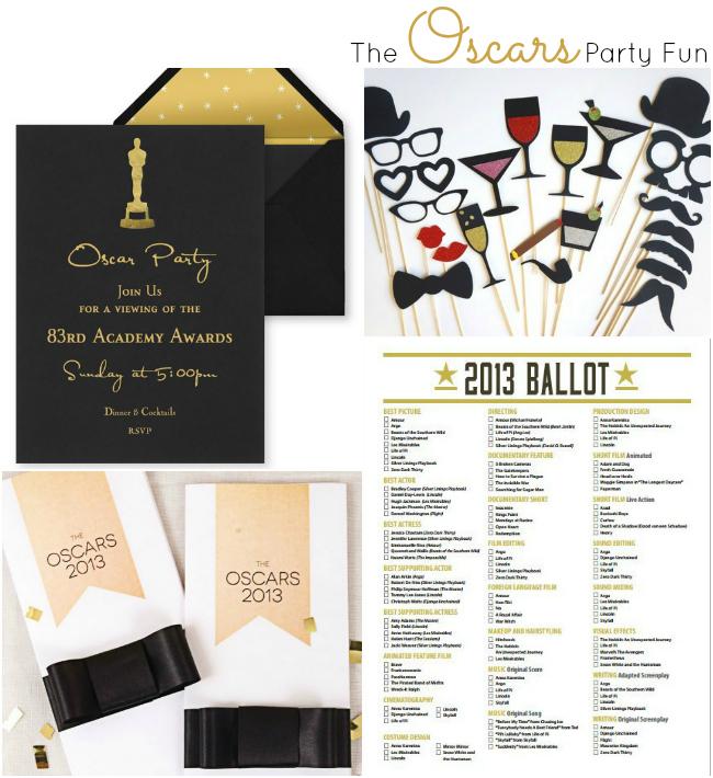 The Oscars - Party Fun Ideas