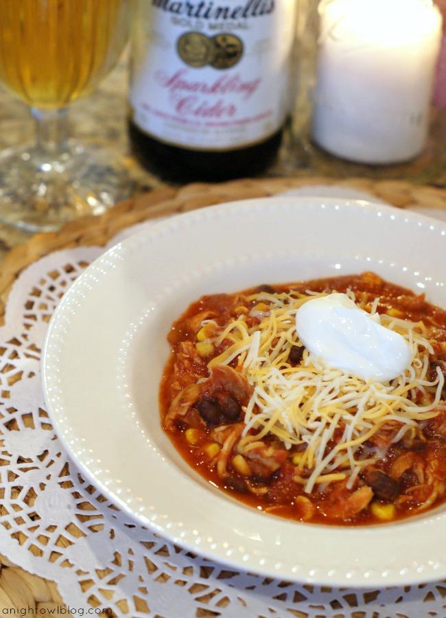 Southwestern Chicken Tortilla Soup | #chicken #tortilla #soup #recipes #cookclassico