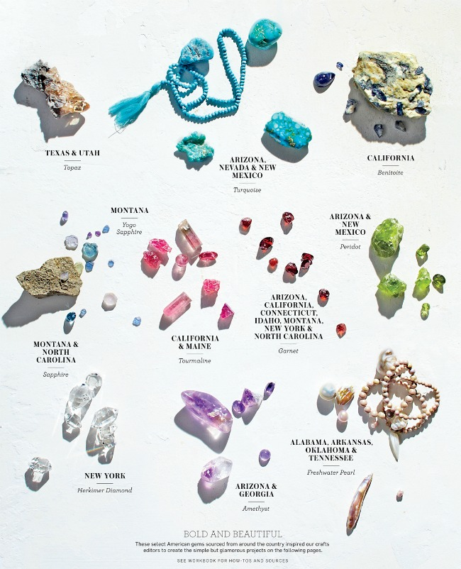 Martha Stewart Living March Issue - American Gems