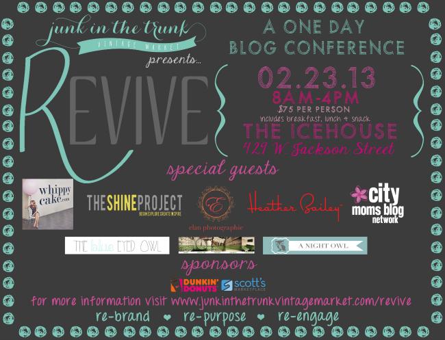 The Revive Conference - A Recap by { anightowlblog.com }
