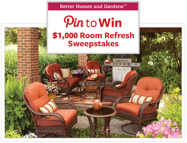 Home and garden sweepstakes entry ask a pro outdoor Home and garden contest