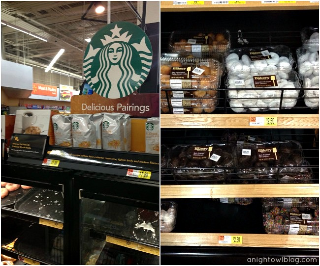 Starbucks and The Bakery at Walmart Chocolate Donuts  #DeliciousPairings