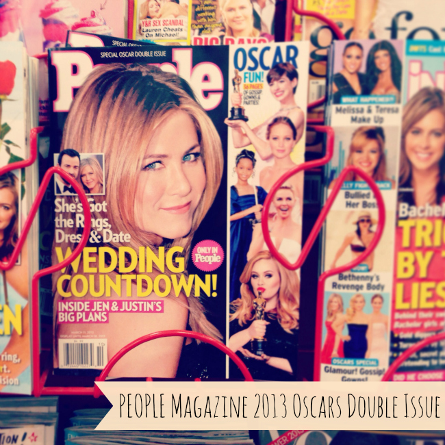 PEOPLE Magazine 2013 Oscars Double Issue - In Stores Now! #peopleforoscars #pmedia