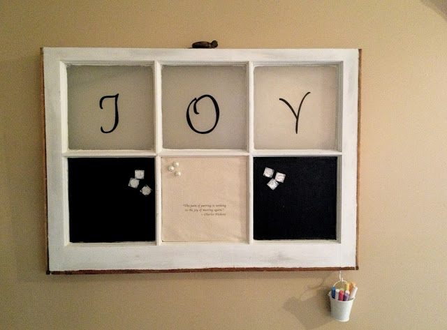 Chalkboard Message Station by Always Something