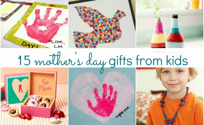 15 Adorable Mother's Day Gift Ideas from Kids Feature