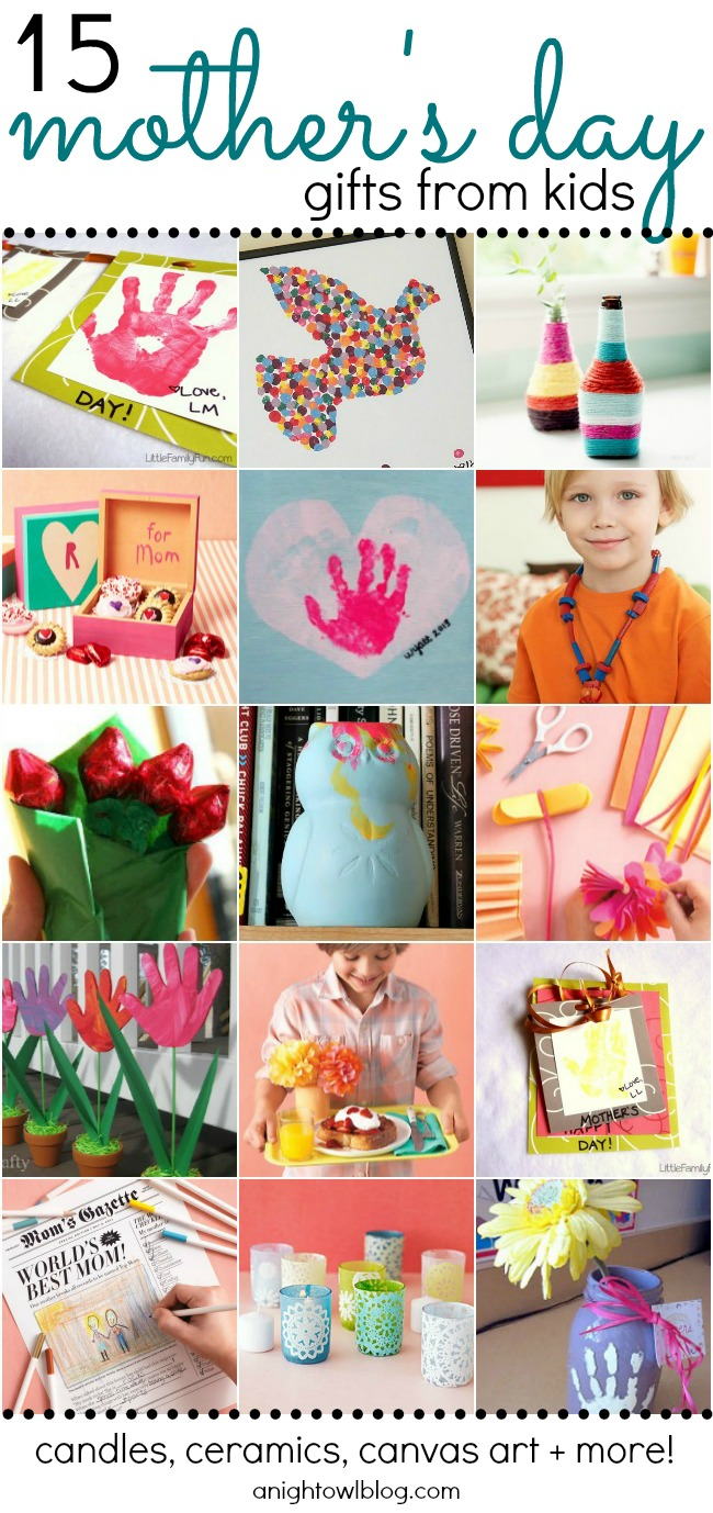 15 Adorable Mother S Day Gift Ideas From Kids A Night Owl Blog