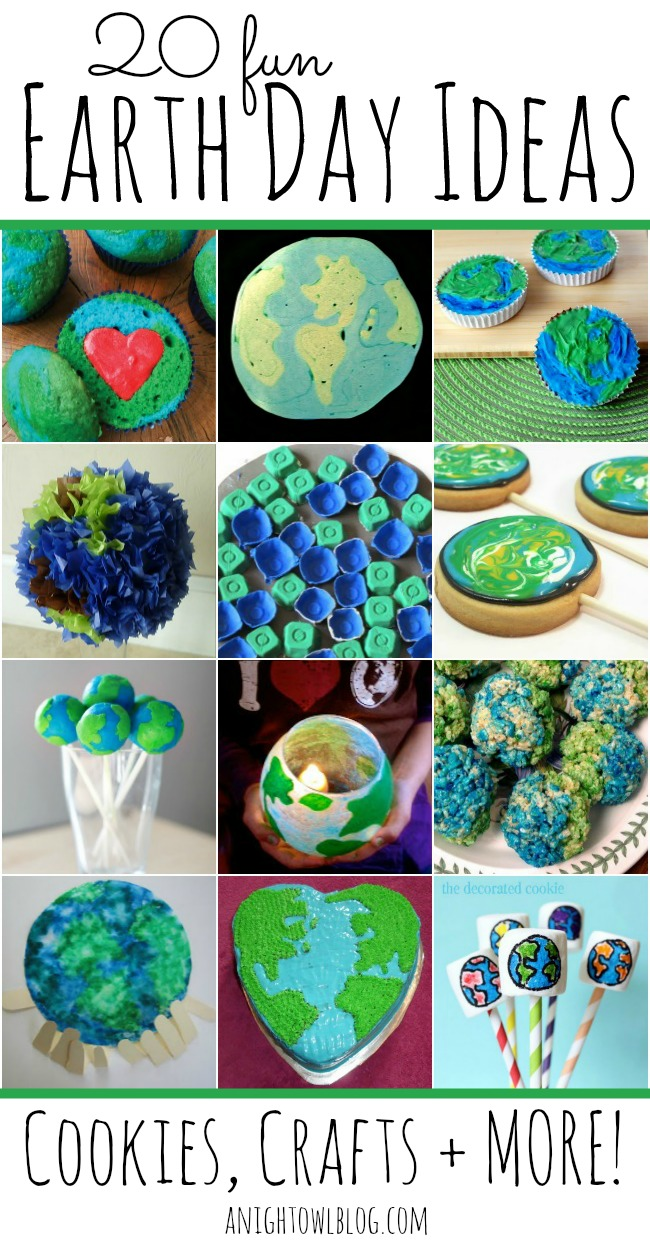 20 Fun Earth Day Ideas #Earth #Day
