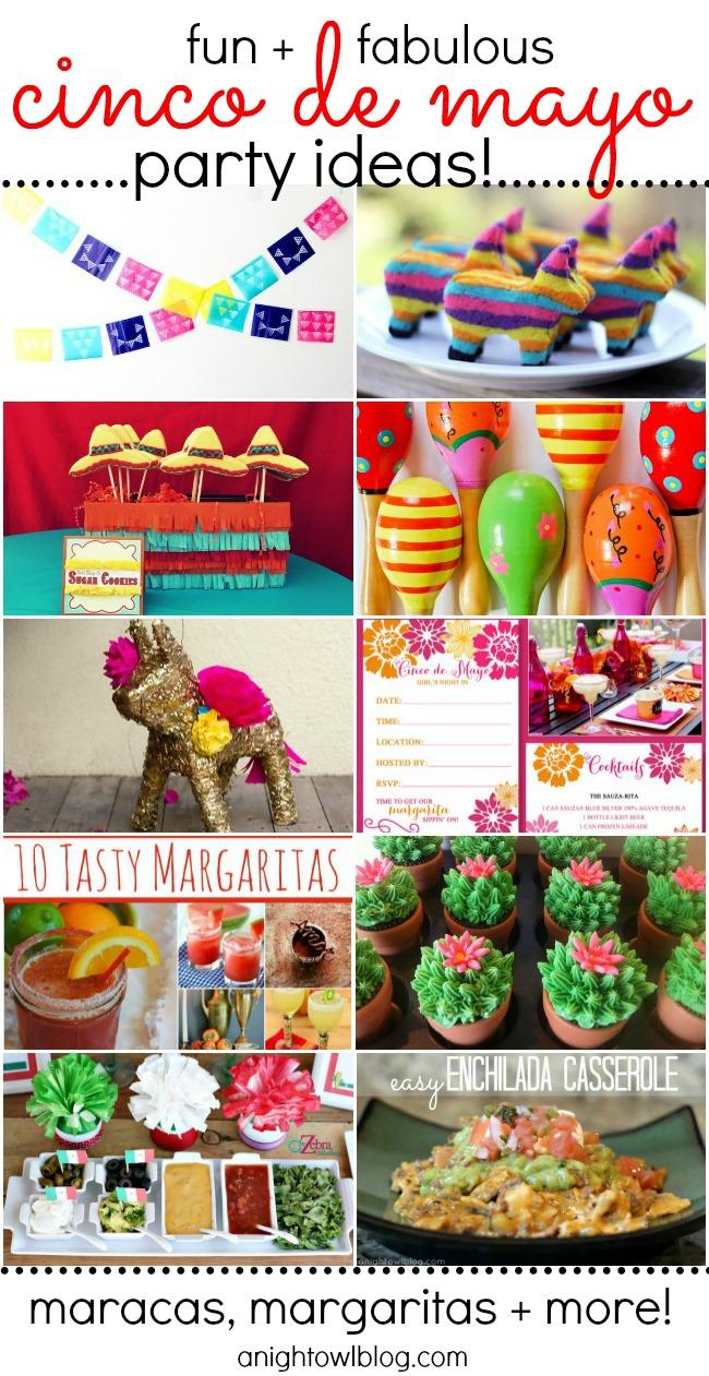 Fun Cinco de Mayo Ideas #cincodemayo