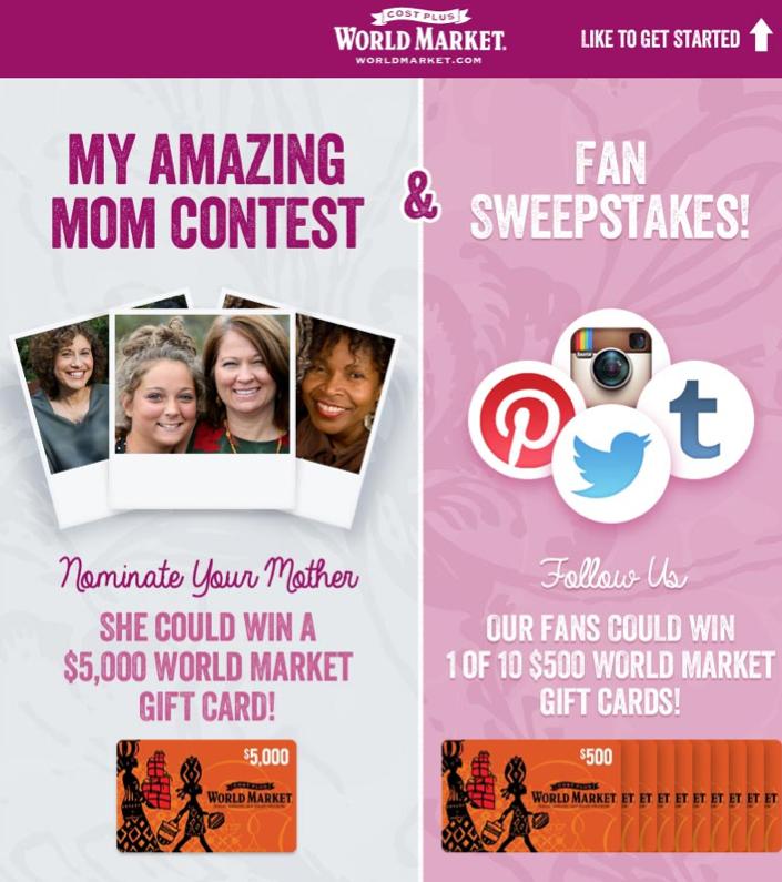 My Amazing Mom Contest