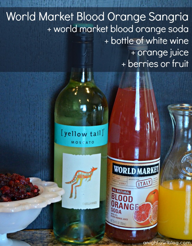 World Market Blood Orange Sangria 2