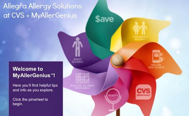 Allegra Allergy Solutions at CVS #MyAllerGenius