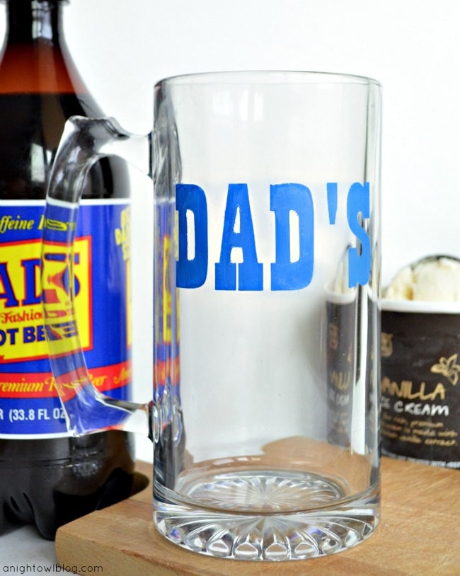Father's Day Dad's Mug with DecoArt Gloss Enamels