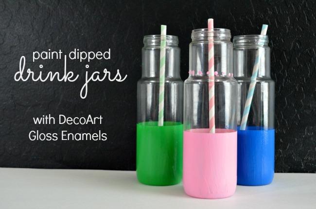 DecoArt Drink Jars 1