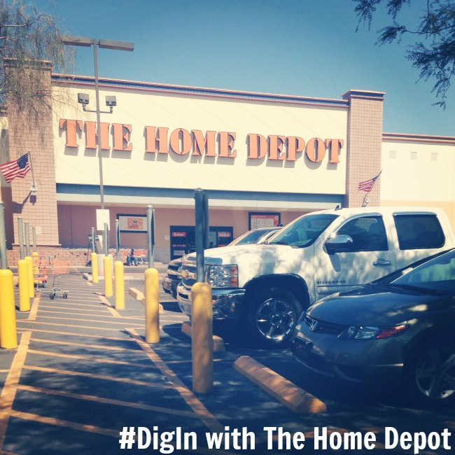 #DigIn with The Home Depot
