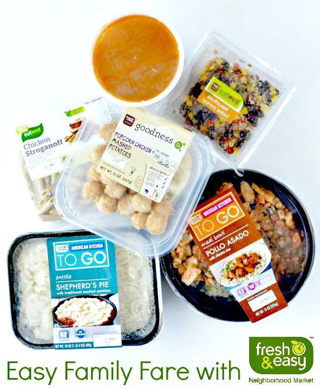 Easy Family Fare with Fresh & Easy #fneasy