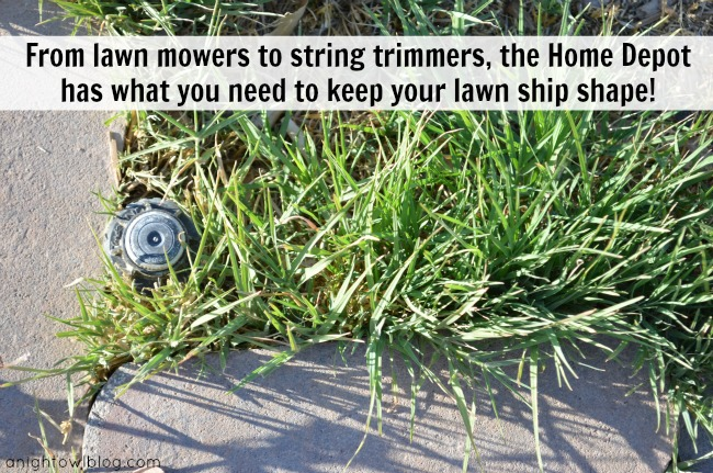 From lawn mowers to string trimmers, the Home Depot has waht you need to keep your lawn ship shape! #DigIn