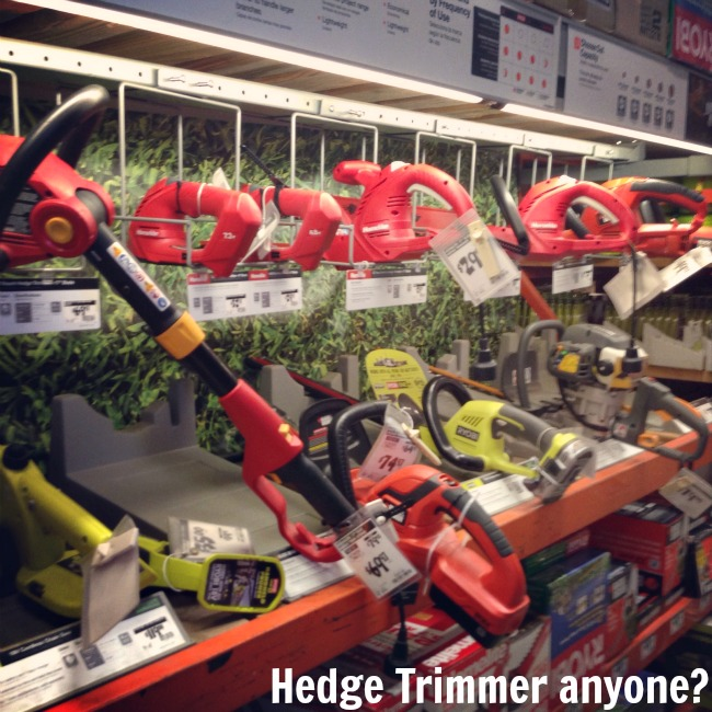 Great selection of Hedge Trimmers at The Home Depot! #DigIn