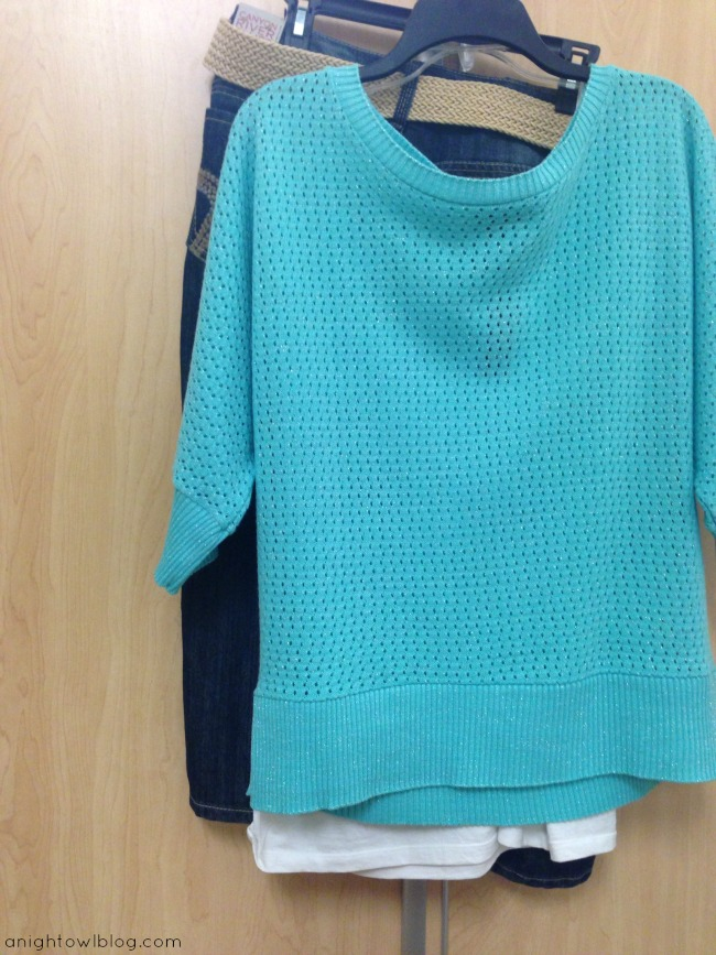 Metaphor Women's Knit Eyelet Sweater #ThisisStyle