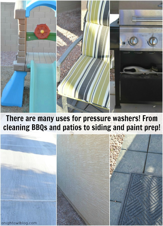 There are many uses for pressure washers! Check them out at your local Home Depot! #DigIn
