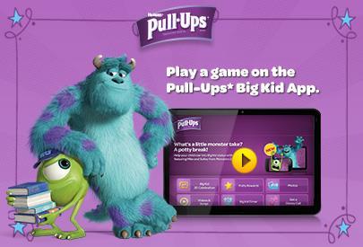 Pull-Ups Big Kid App #PullUpsPottyBreaks