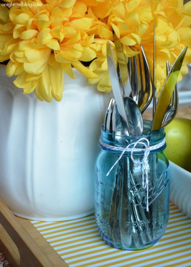 Entertaining Tips - Use Scrapbook and Wrapping Paper