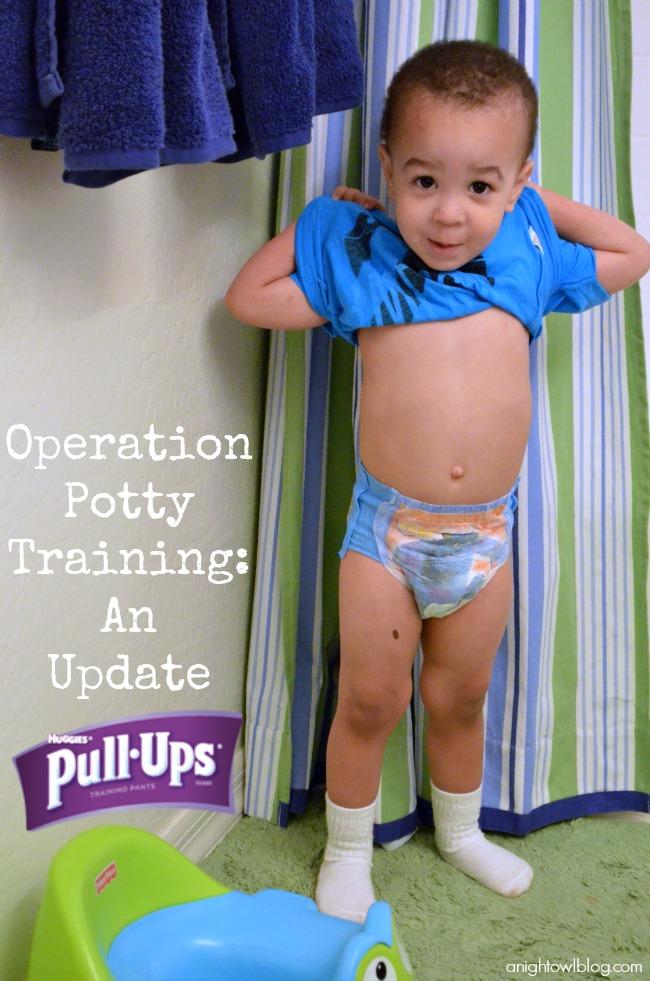 Potty Training with Huggies #PullUpsPottyBreaks