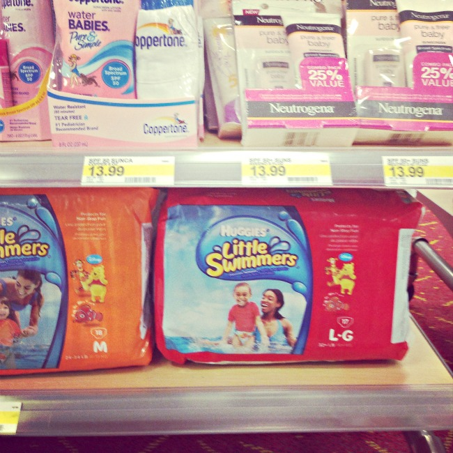 Find Huggies Little Swimmers at your local Target #HuggiesSwimmers