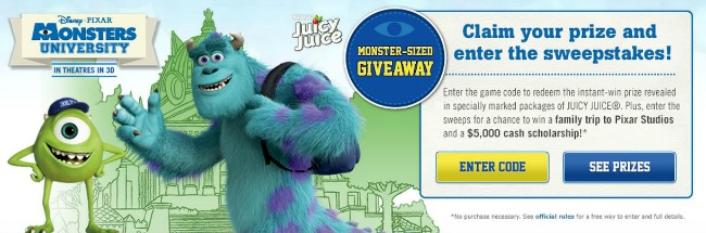 Juicy Juice Sweepstakes #MUJuice
