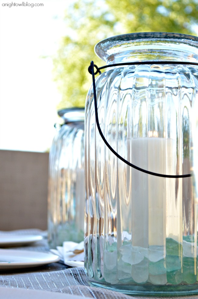 Lanterns from World Market #SummerFun