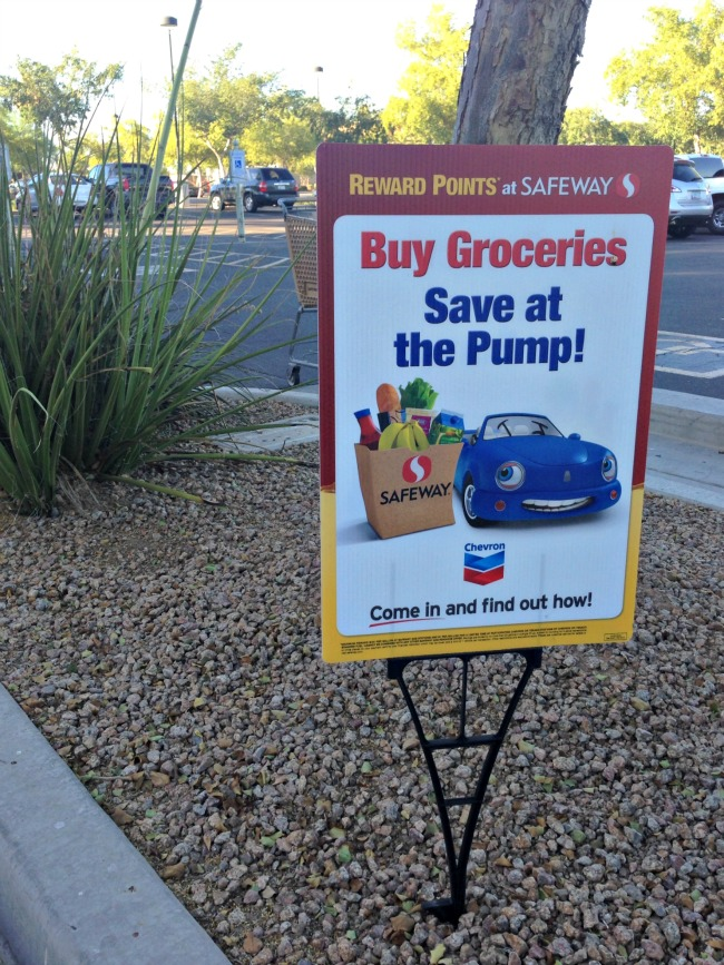 At Safeway, when you buy groceries, you can save at the pump!