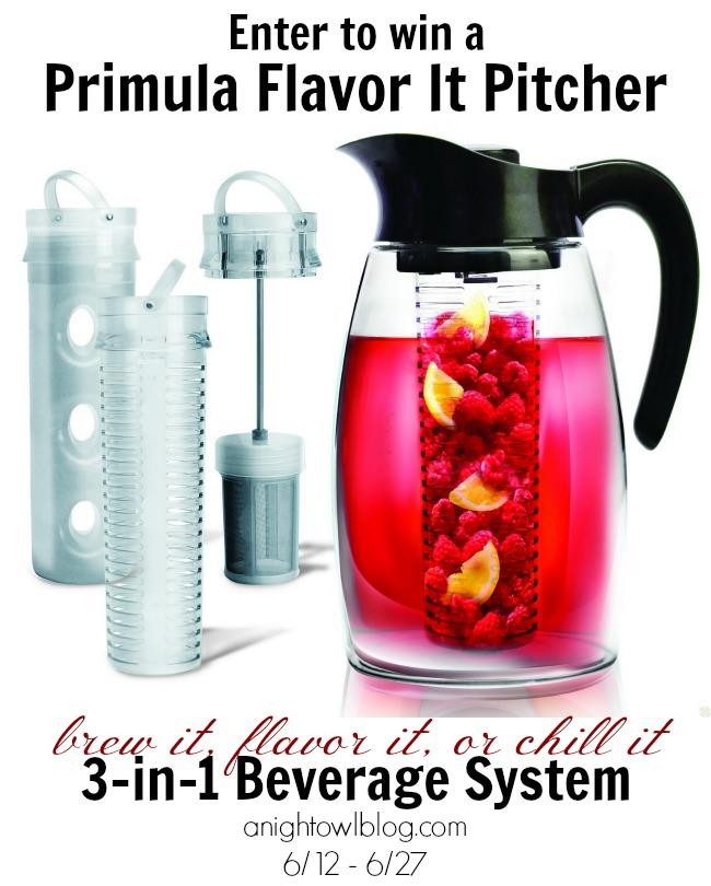 Win a Primula Flavor It Pitcher