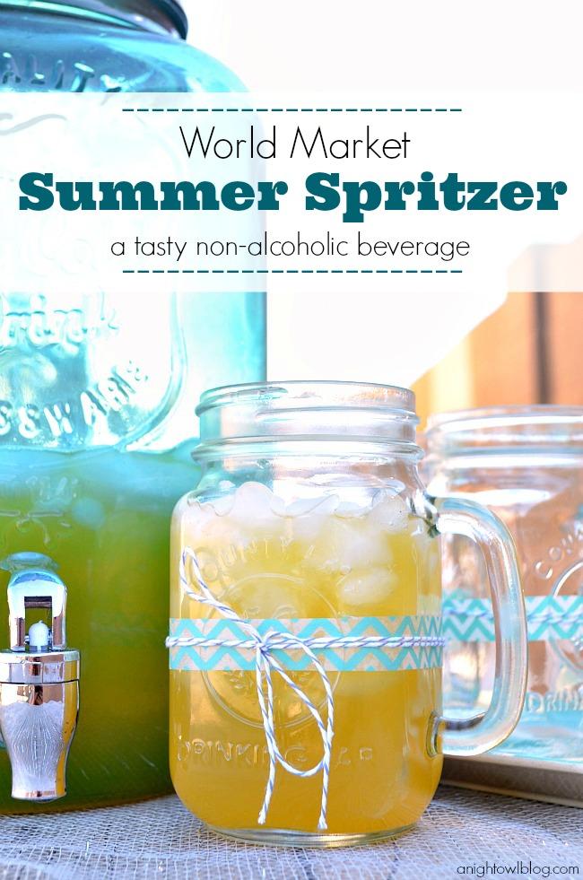 World Market Summer Spritzer #SummerFun