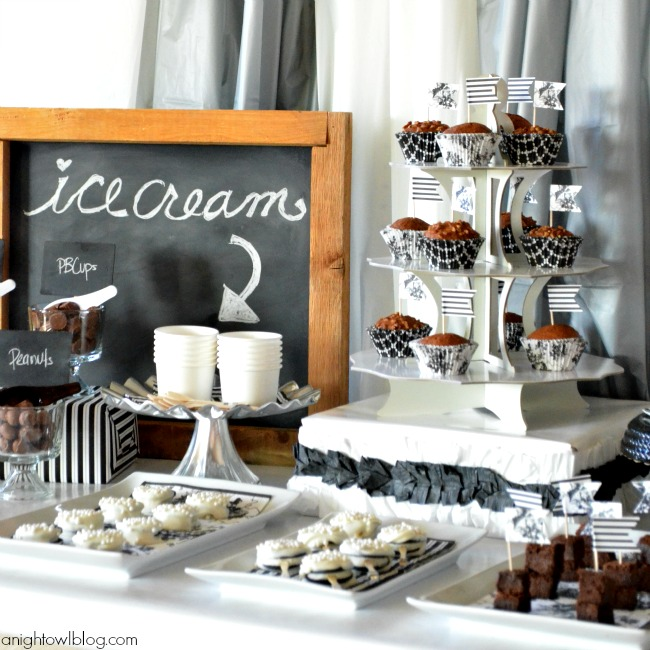 Create a lovely dessert table for any party with #MarthaCelebrations!