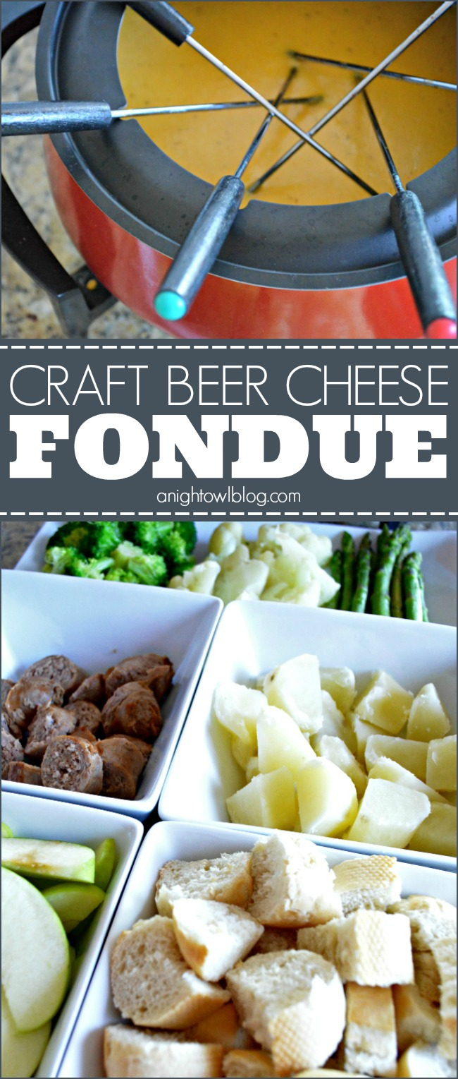 Seriously one tasty cheese fondue dip that will be the talk of your next get together!