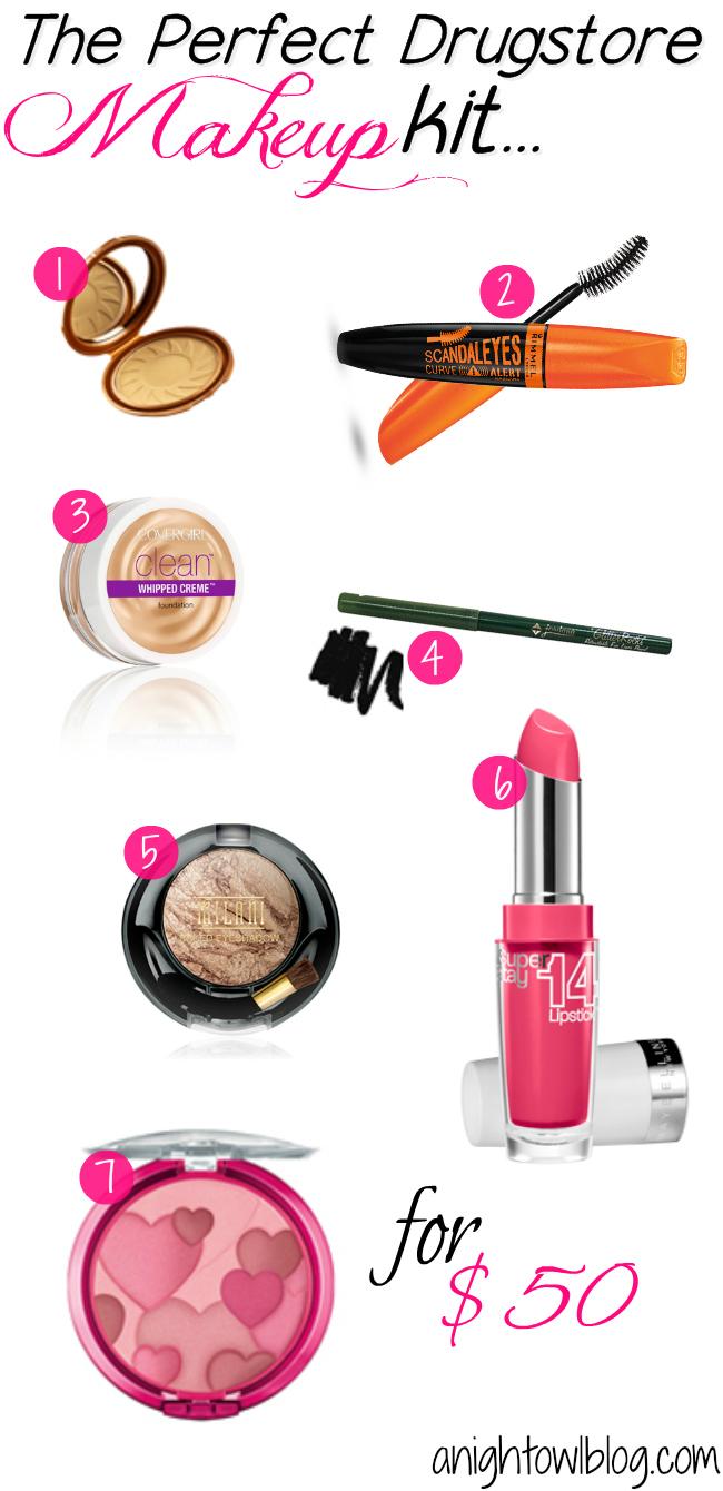 beginner makeup essentials