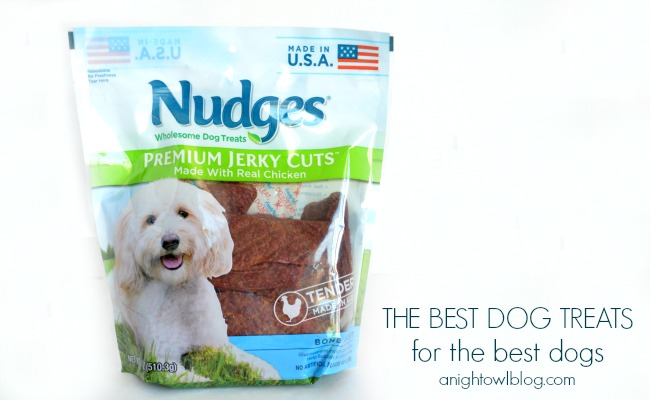 Nudges – The Best Dog Treats for The Best Dogs #NudgesMoments #cbias